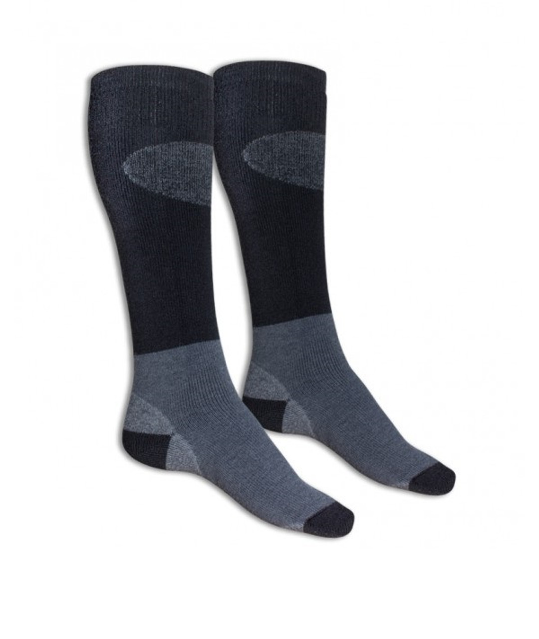Falke Ski Socks Black Grey @https://www.mountainmailorder.co.za/