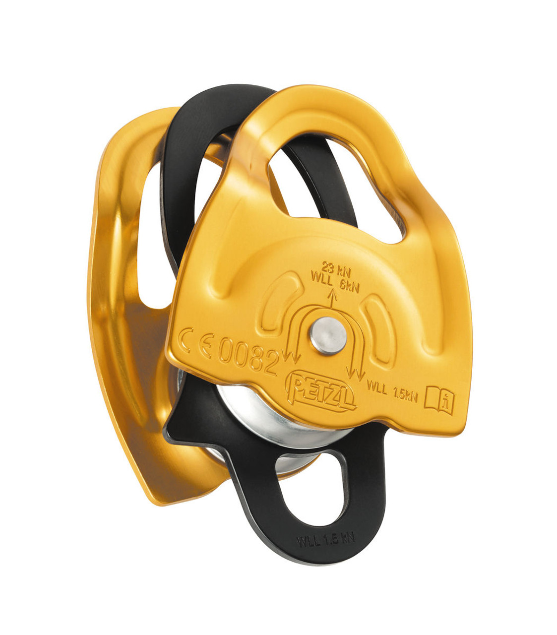 Petzl Gemini Pulley @https://www.mountainmailorder.co.za/