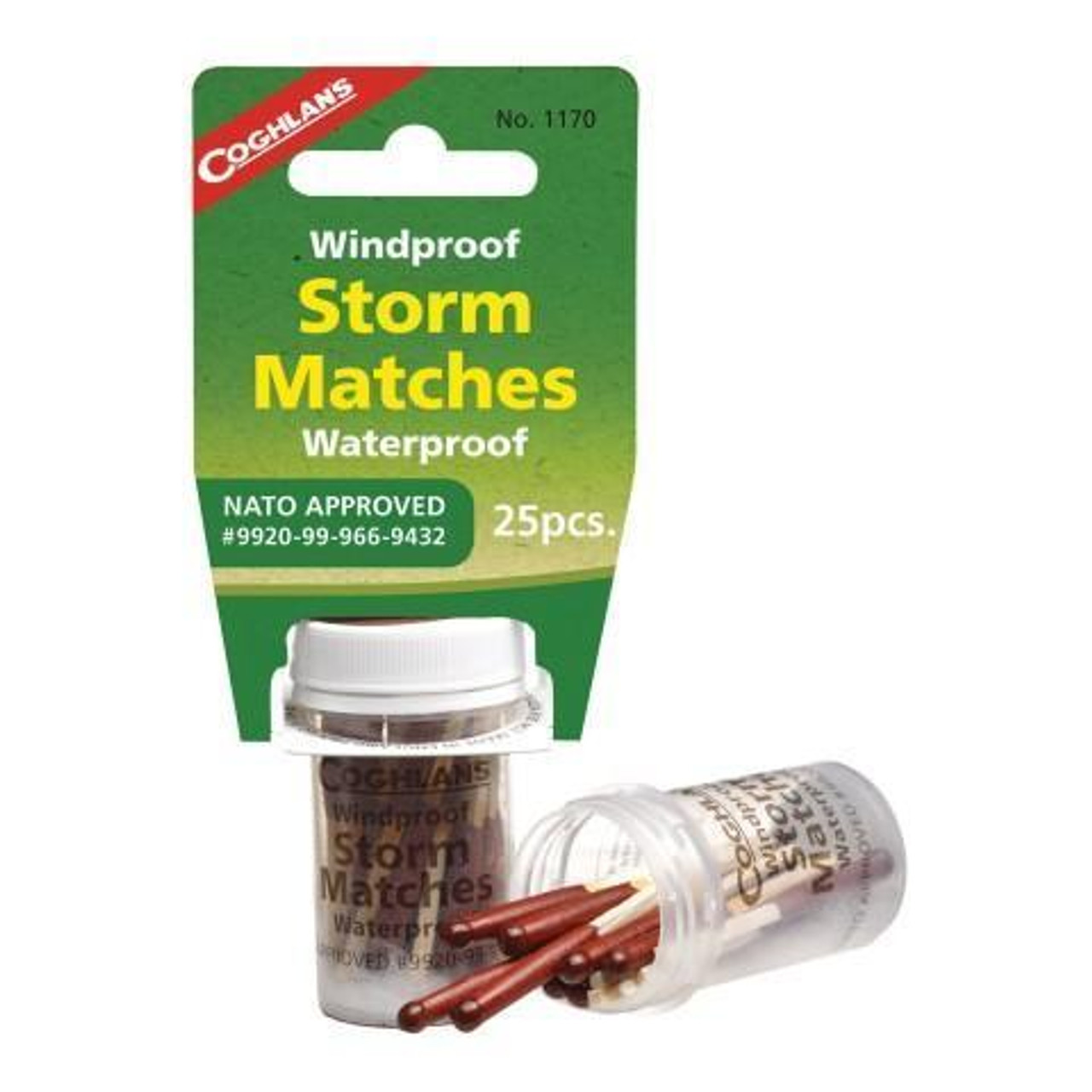 Coghlans Storm Matches - 25pk @http//www.mountainmailorder.co.za