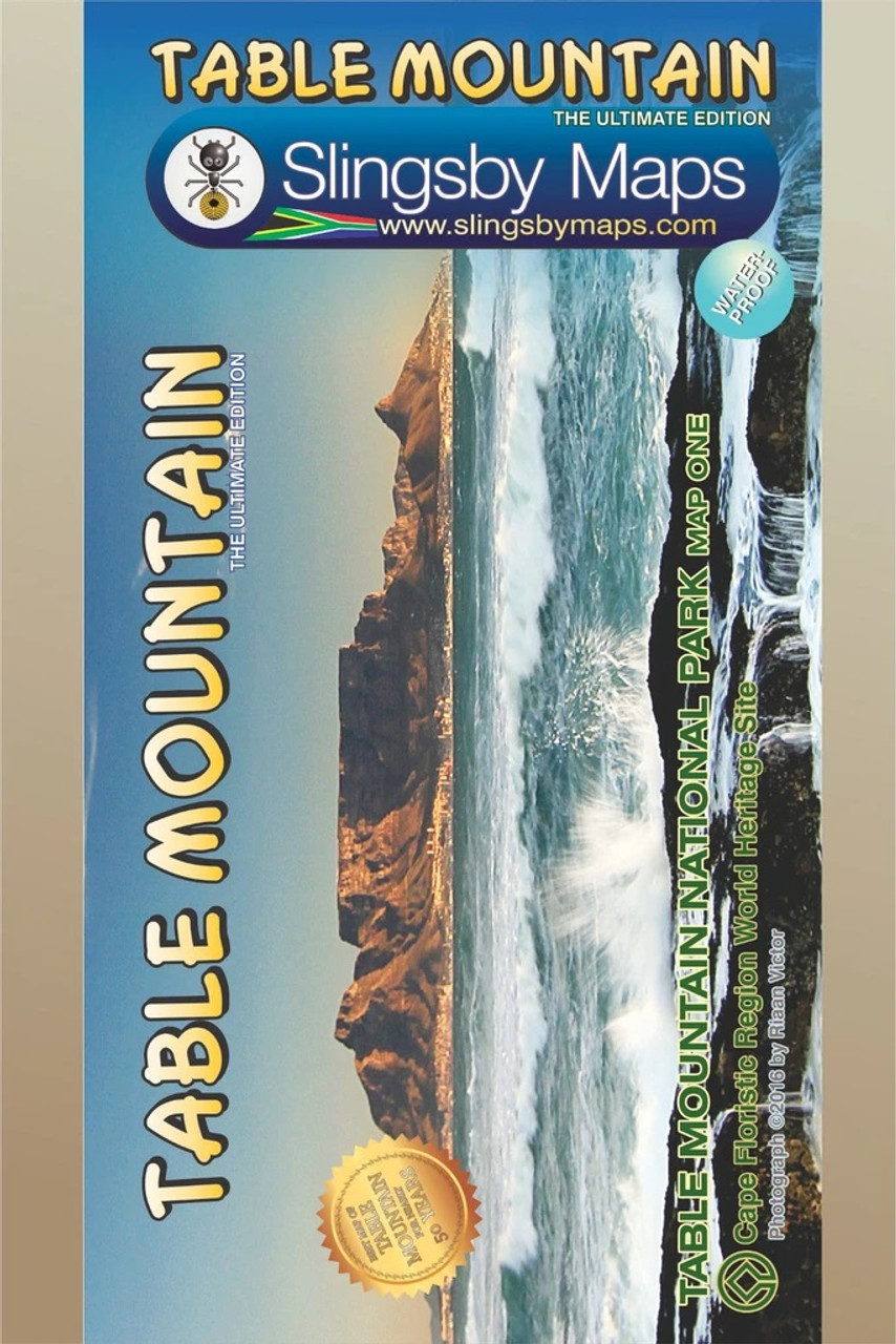 Slingsby Table Mountain Map @ https://www.mountainmailorder.co.za