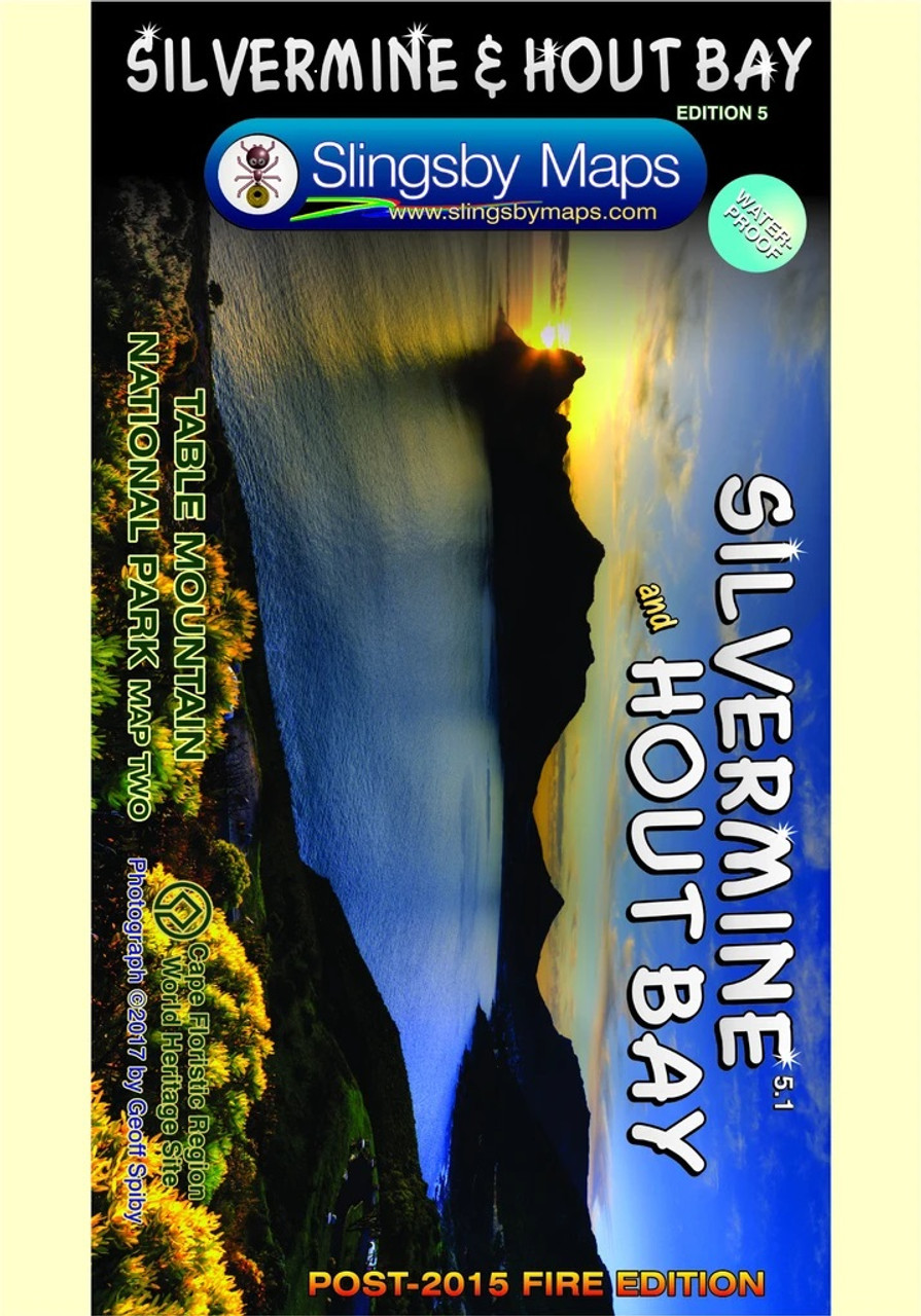 Slingsby Silvermine & Hout Bay Map @ https://www.mountainmailorder.co.za