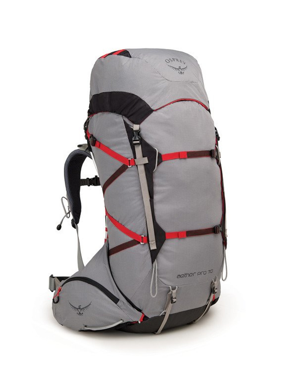 Osprey Aether Pro - 70L - Front @mountainmailorder