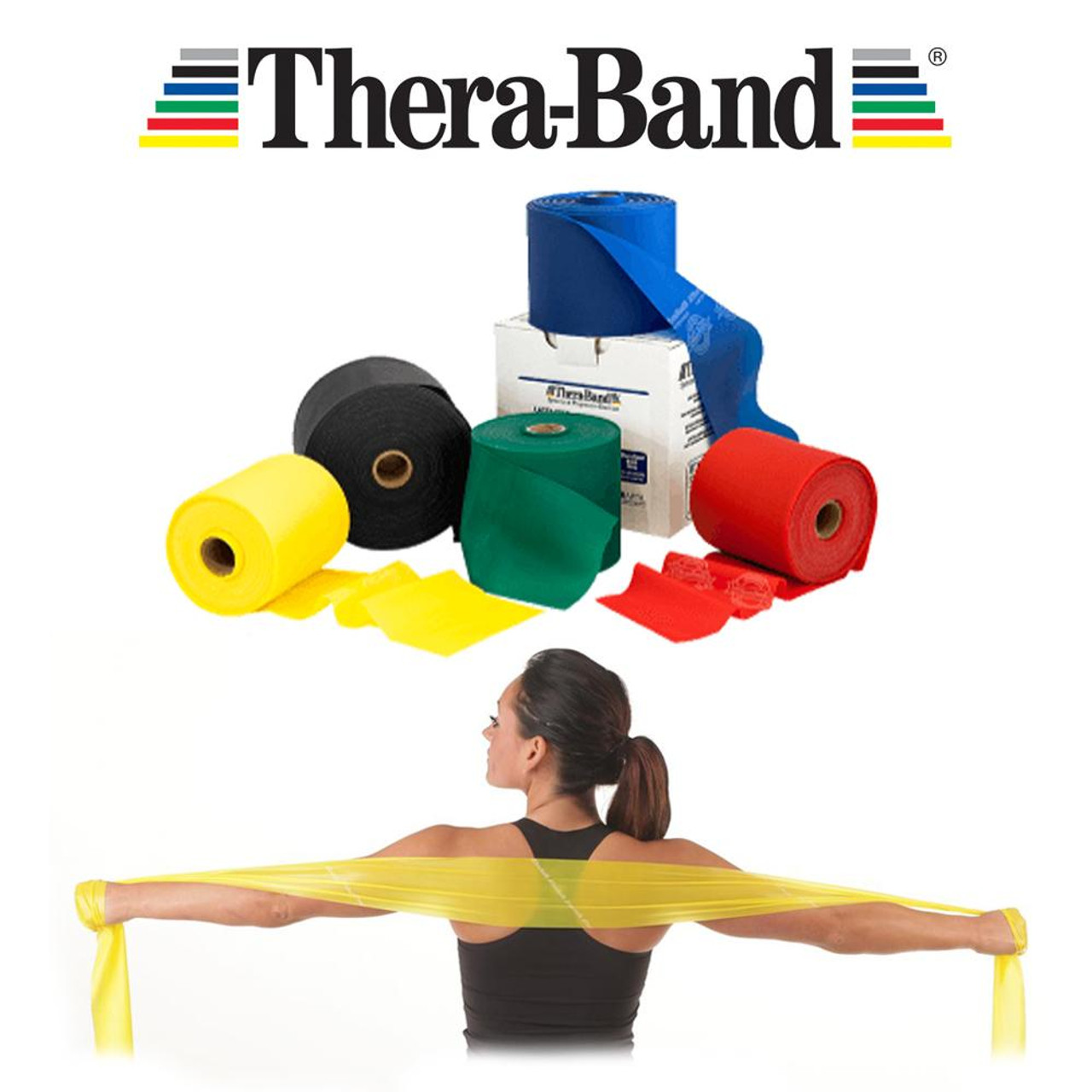 Theraband Exercise Band Various - P/M