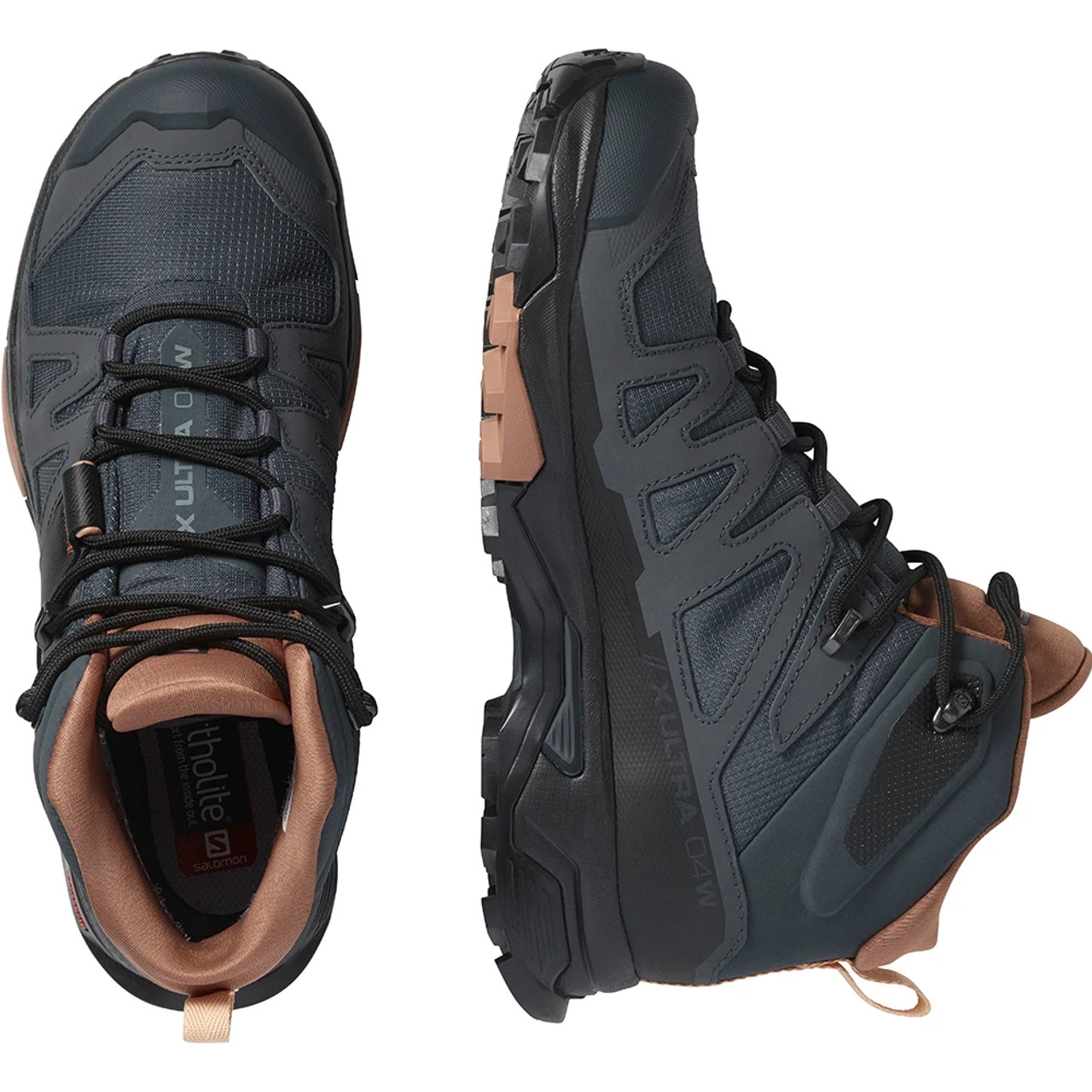 Salomon X Ultra 4 Mid GTX - WMS Online at Mountain Mail Order South Africa - Top & Side