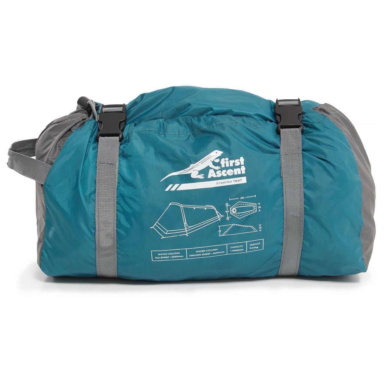 First Ascent Stamina - 1 Person Tent - Packed - Online at Mountain Mail Order South Africa