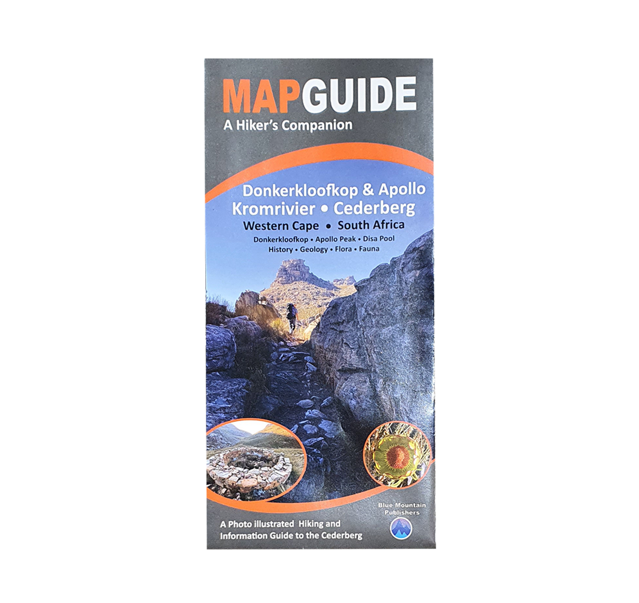 Blue Mountain Map Guide - Donkerkloofkop & Apollo Kromrivier - Cederberg - Online at Mountain Mail Order South Africa
