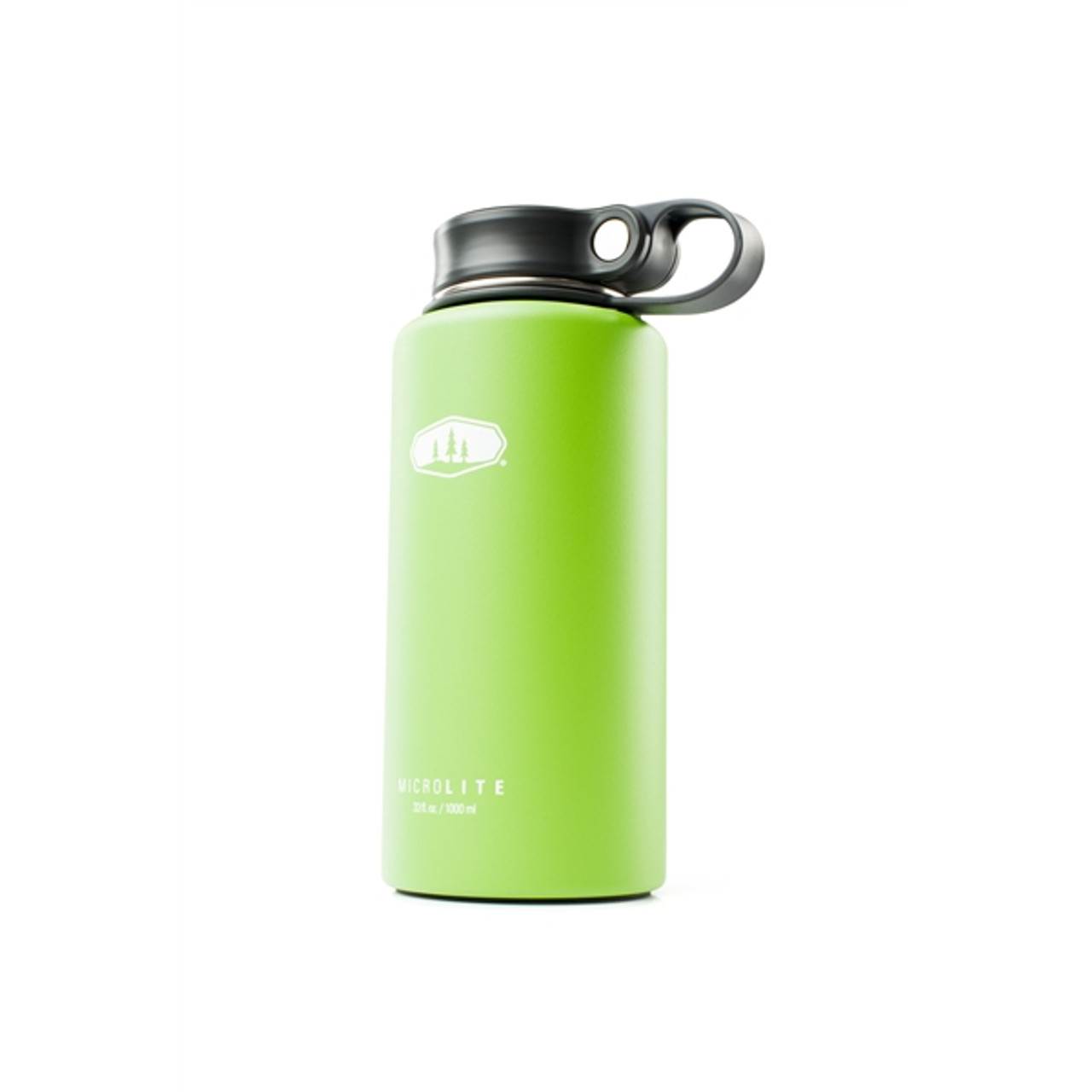 GSI Outdoors Microlite Twist Flask 1L Green