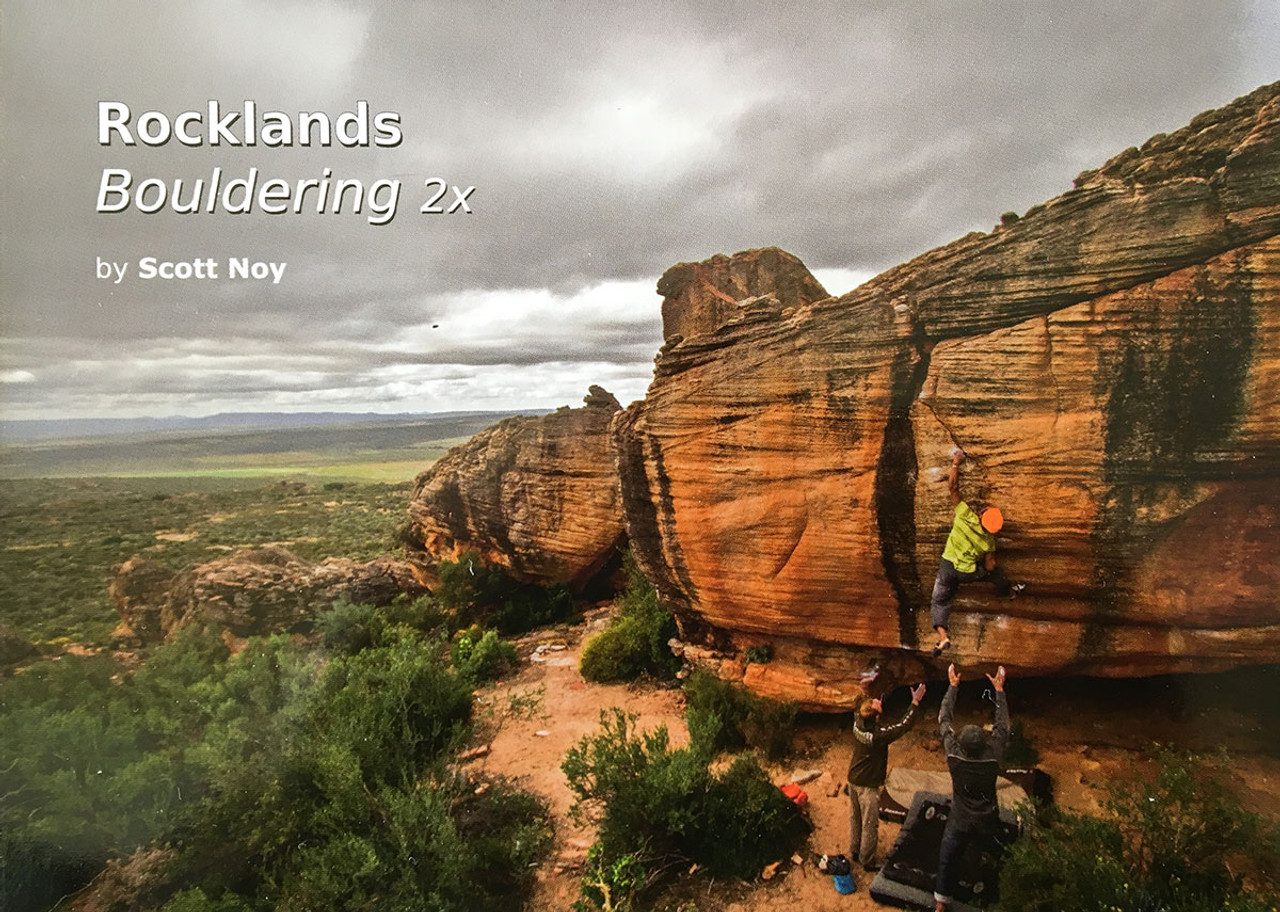 Rocklands Bouldering Guide Book 2X