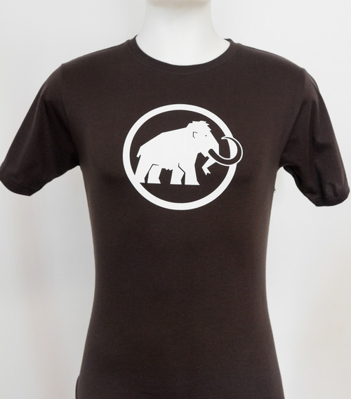Mammut Logo Tee Men's Black @http//www.mountainmailorder.co.za