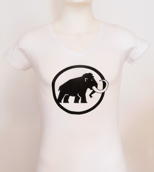 Mammut Logo Tee Woman's White @http//www.mountainmailorder.co.za