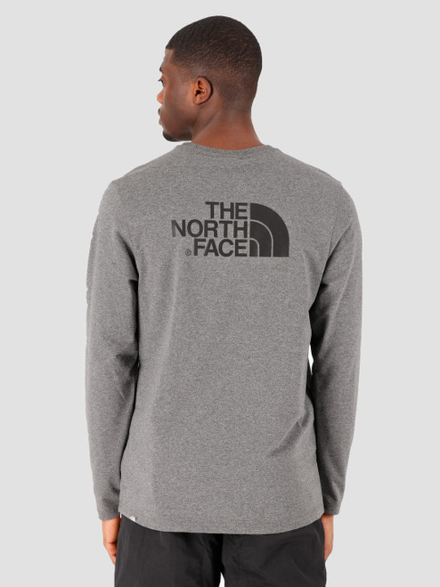 The North Face L/S Easy Tee Grey Heather @http//www.mountainmailorder.co.za