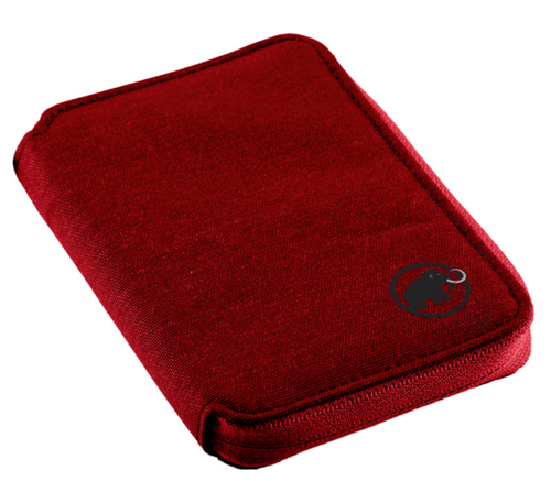 Mammut Zip Wallet Melange Dark Lava @http//www.mountainmailorder.co.za