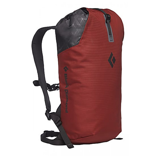 Black Diamond Rock Blitz Backpack - 15L - Red Oxide - Front - @mountainmailorder