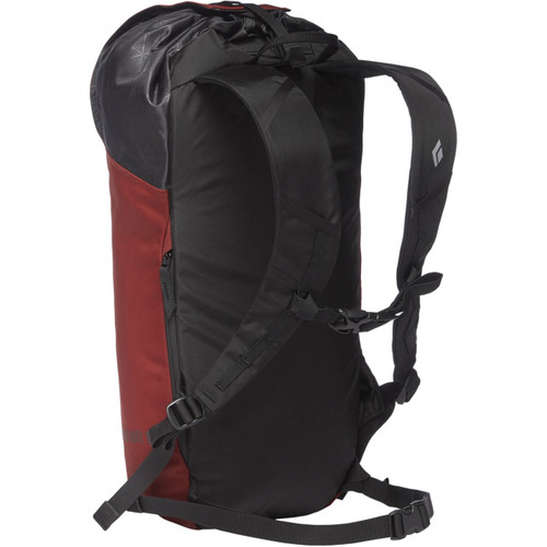 Black Diamond Rock Blitz Backpack - 15L - Red Oxide - Back - @mountainmailorder