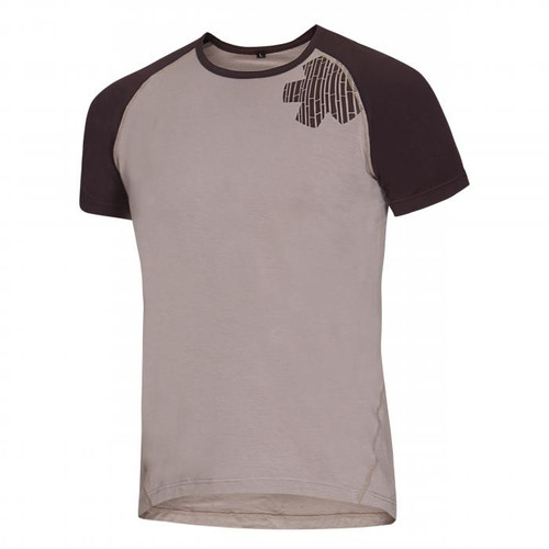 Ocun Bamboo Tee Blossom Simple - Men - Taupe - Mountain Mail Order South Africa