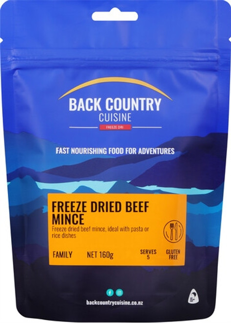 Back Country Cuisine: Beef Mince - Gluten Free Online at Mountain Mail Order South Africa