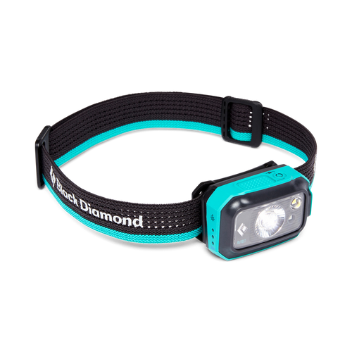 Black Diamond Revolt Rechargeable Headlamp - 350L - Aqua Blue Online at Mountain Mail Order South Africa