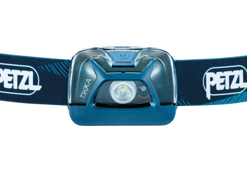 Petzl Tikka 300 Lumen Headlamp Blue @https://www.mountainmailorder.co.za/