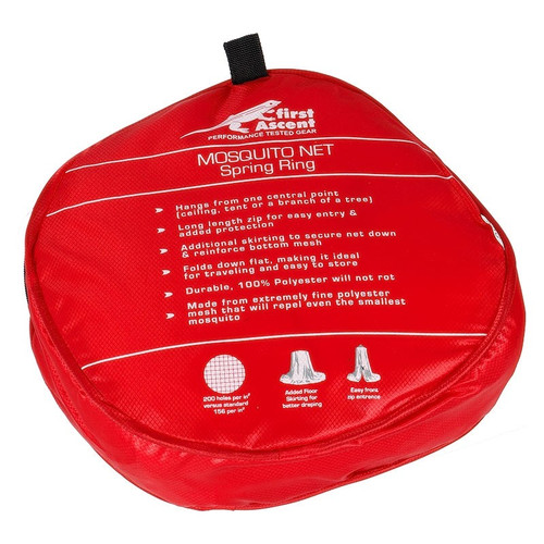 First Ascent Spring Ring Mosquito Net