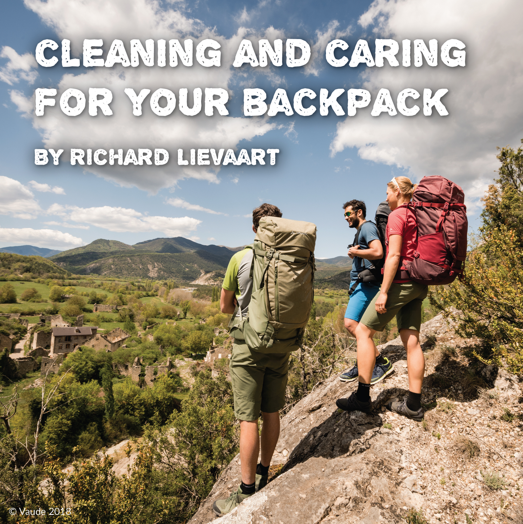 Cleaning and Caring for your backpacks