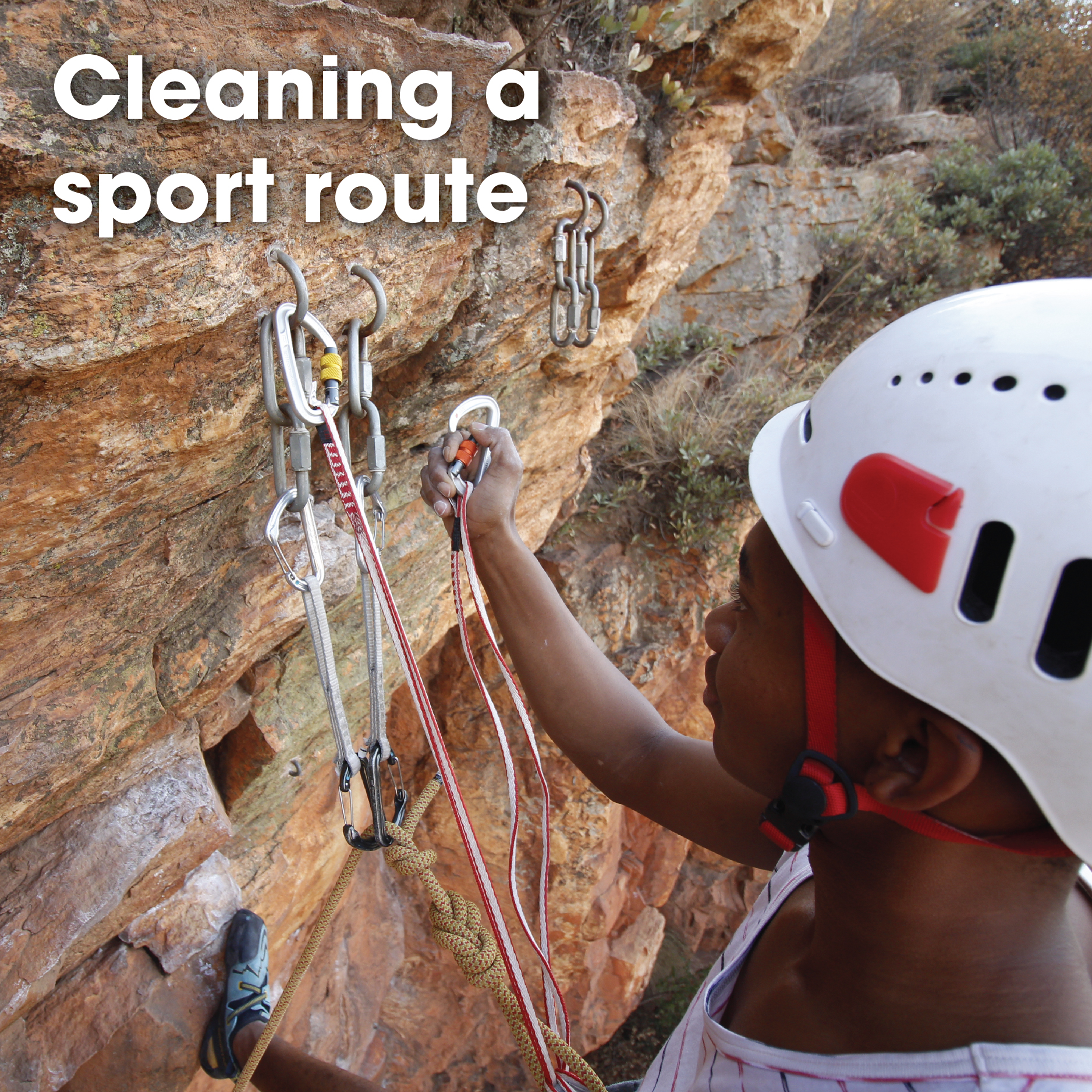 Cleaning a sport route