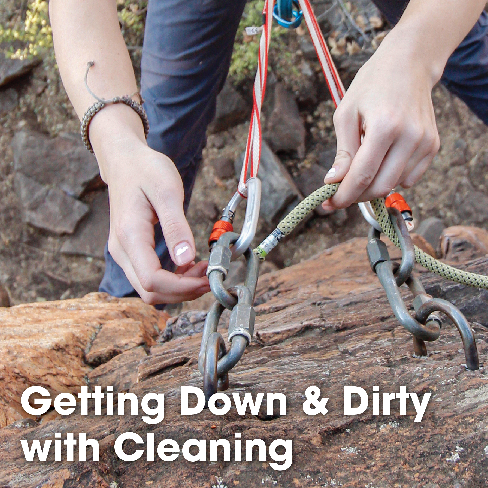 Getting Down & Dirty with Cleaning