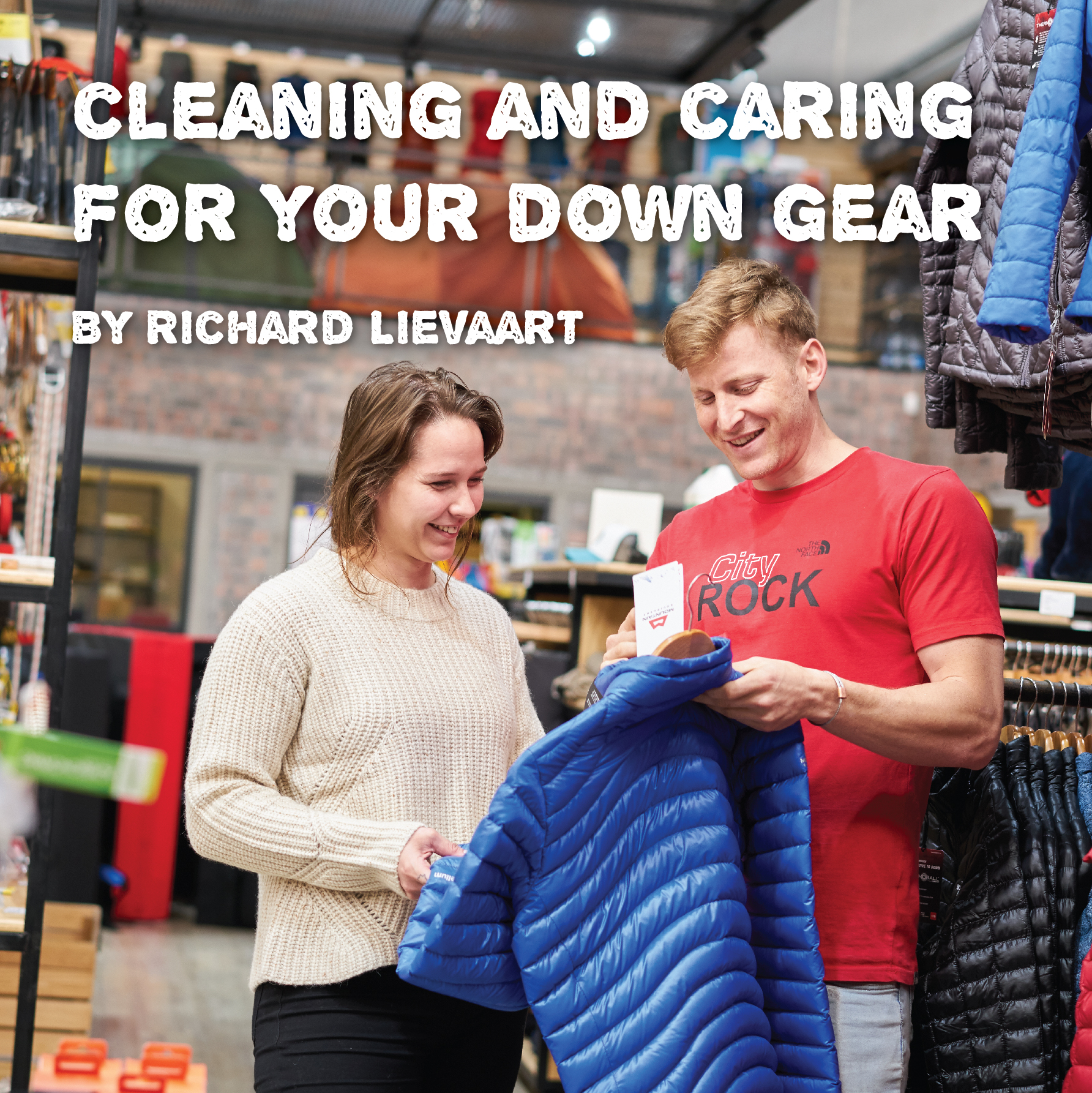 Cleaning and Caring for your down gear
