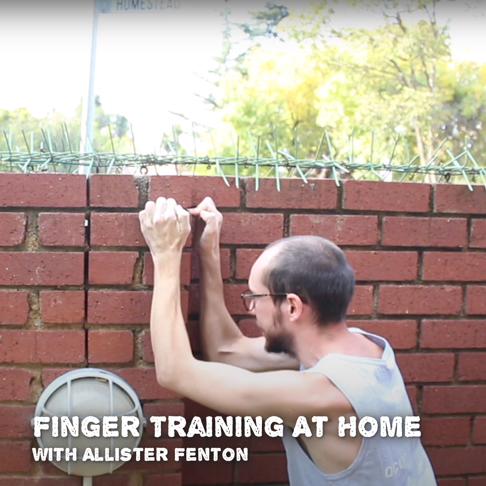 Finger training at home
