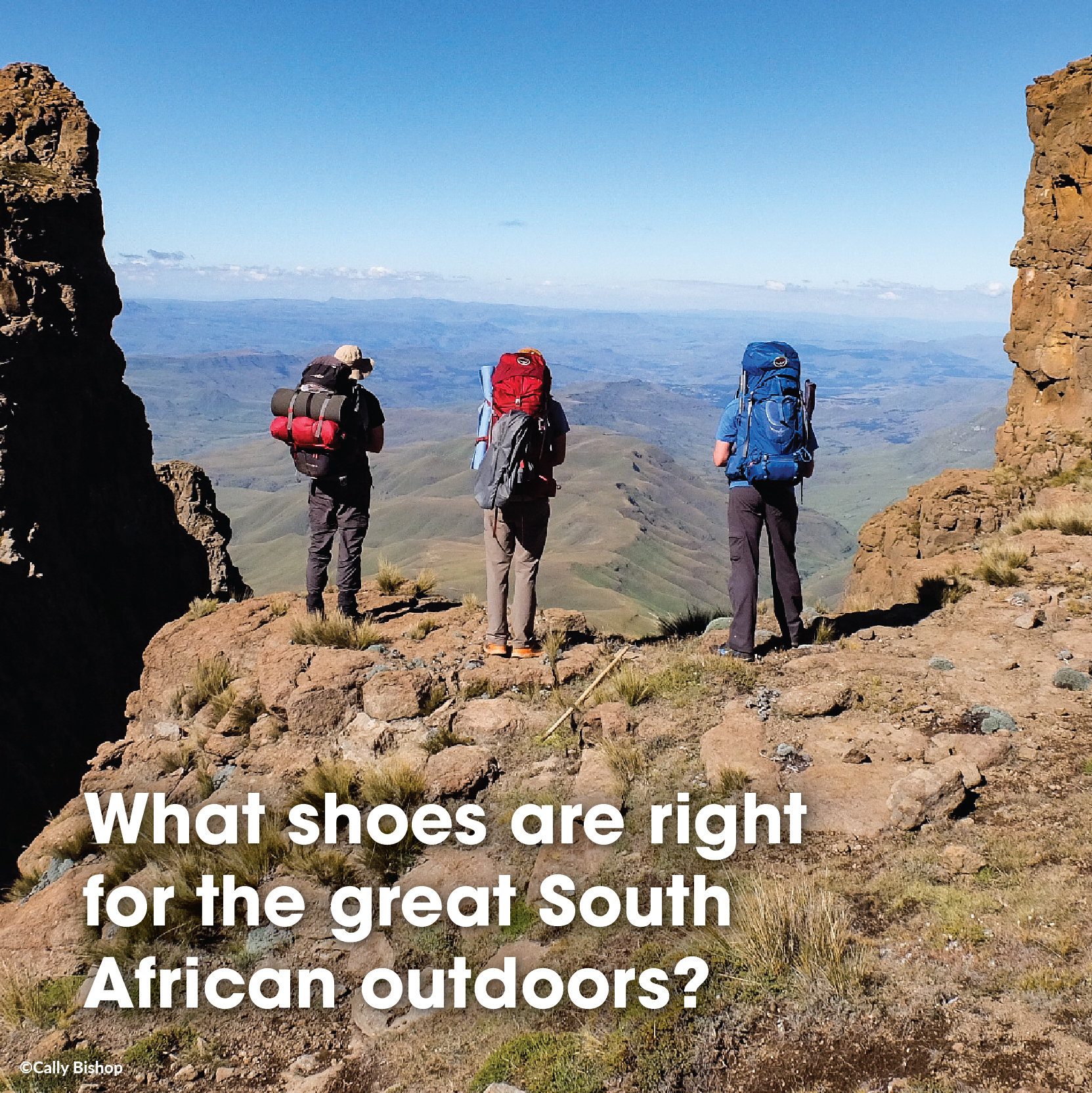 What shoes are right for the great South African outdoors?