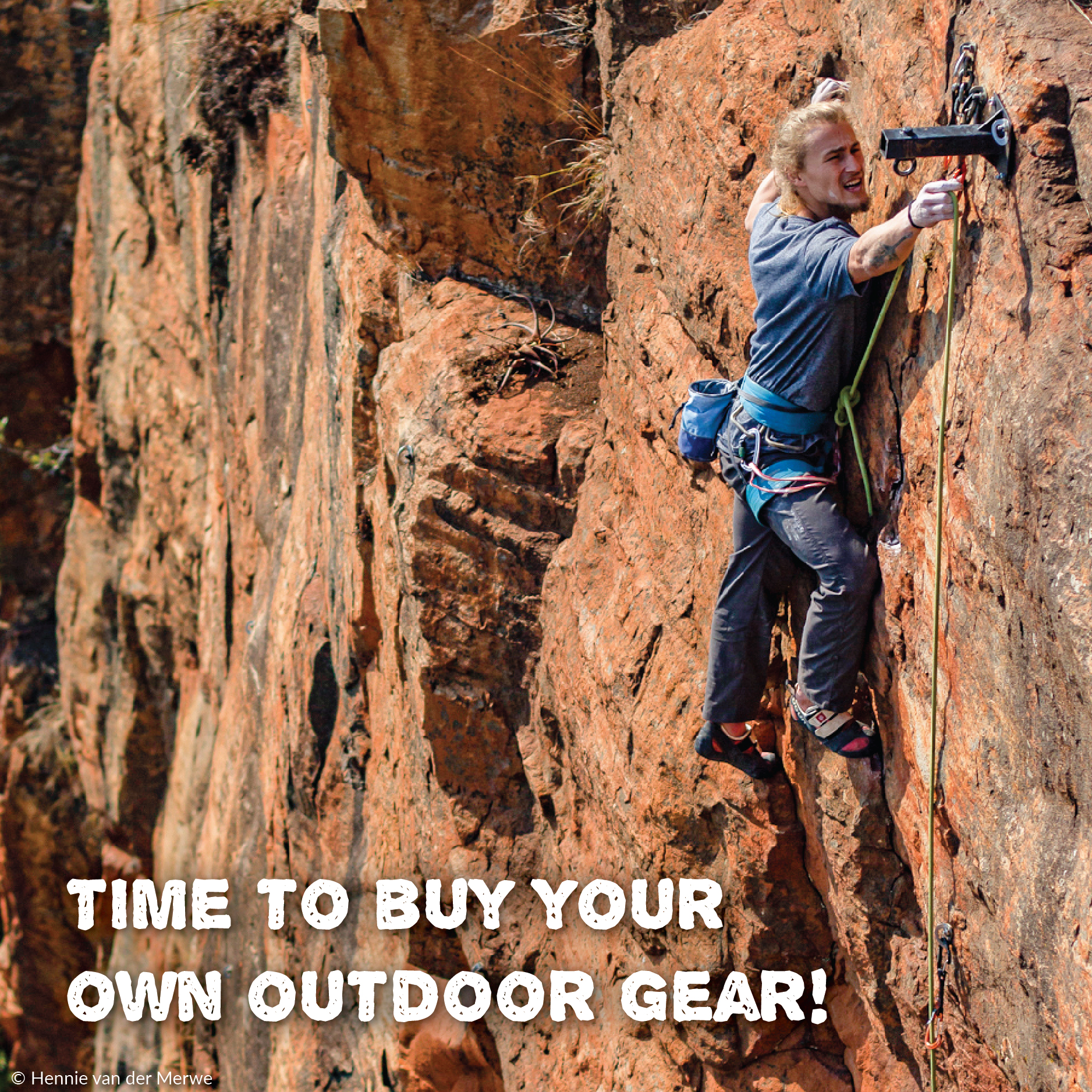 Time to buy your own outdoor gear!