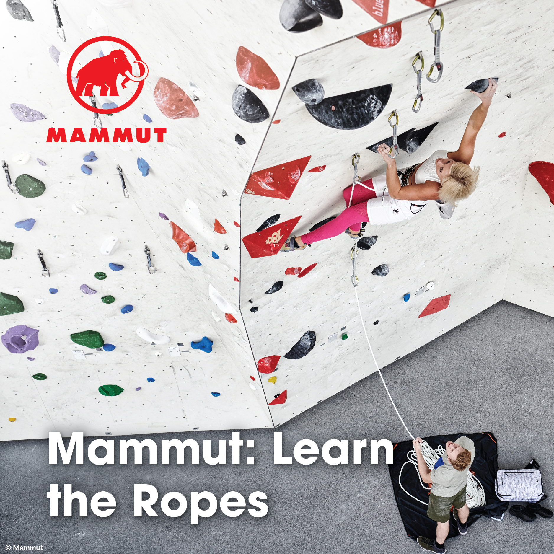 Mammut: Learn the Ropes