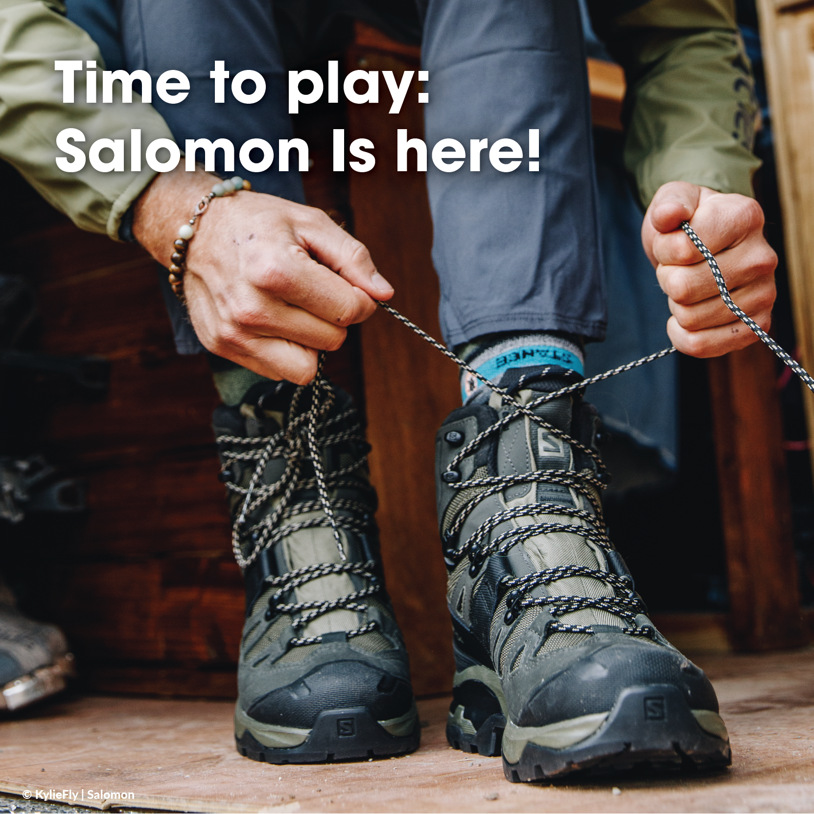 Time to Play: Salomon Is Here
