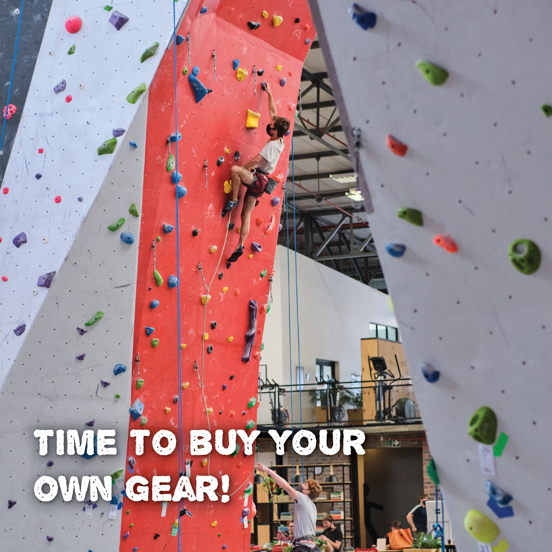 Time to buy your own gear!