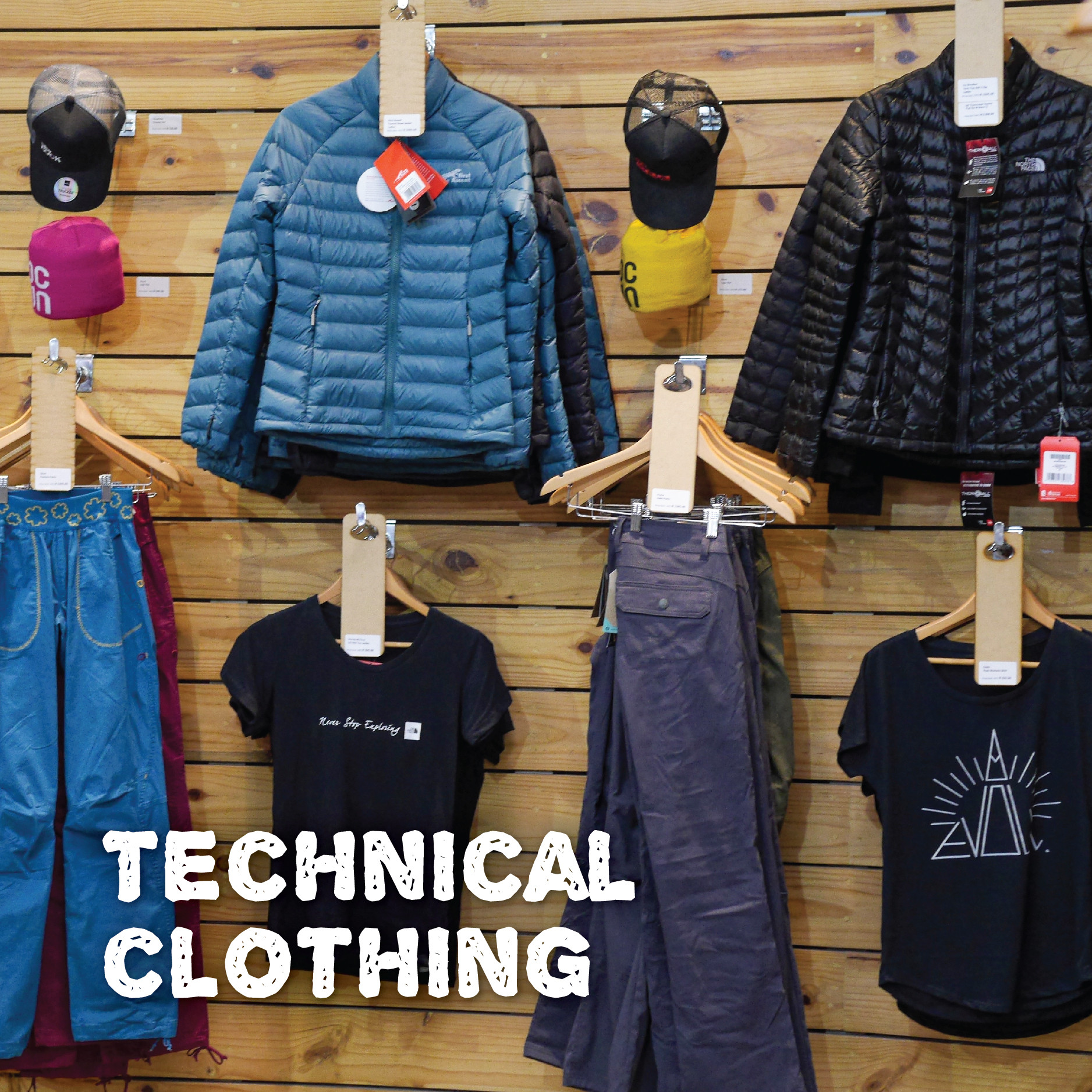 Why do I need technical clothing?