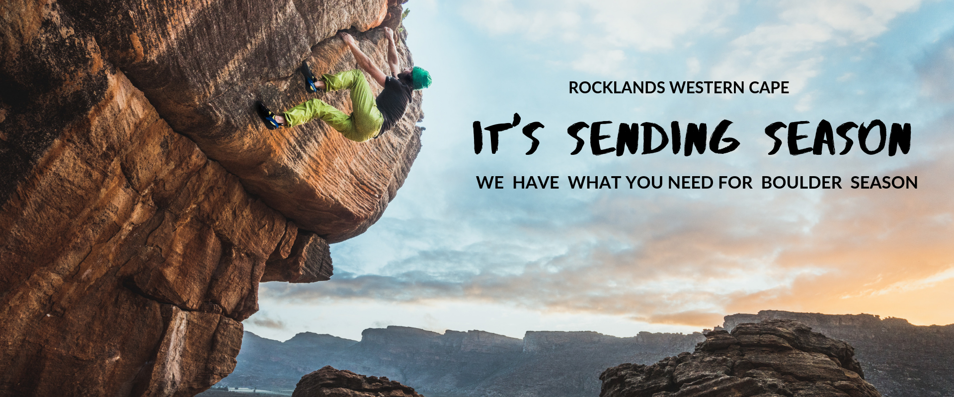 Rocklands Boulder Season
