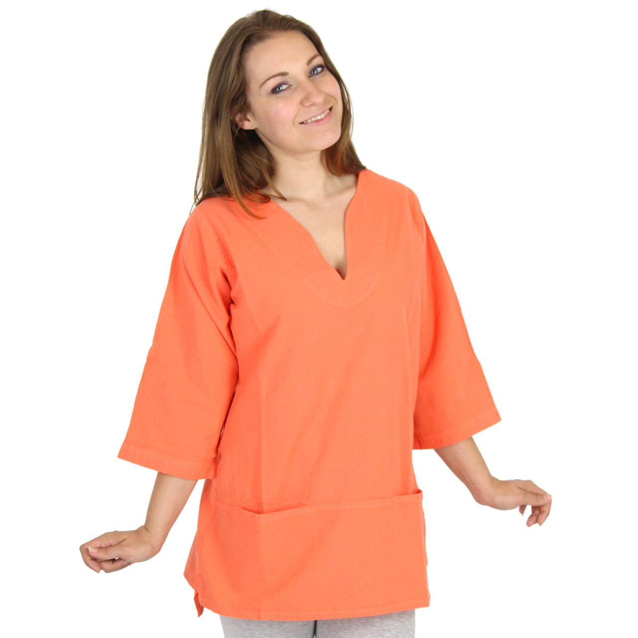 6387027eb Cotton Tunic Top / Ezze Wear / Made in Canada