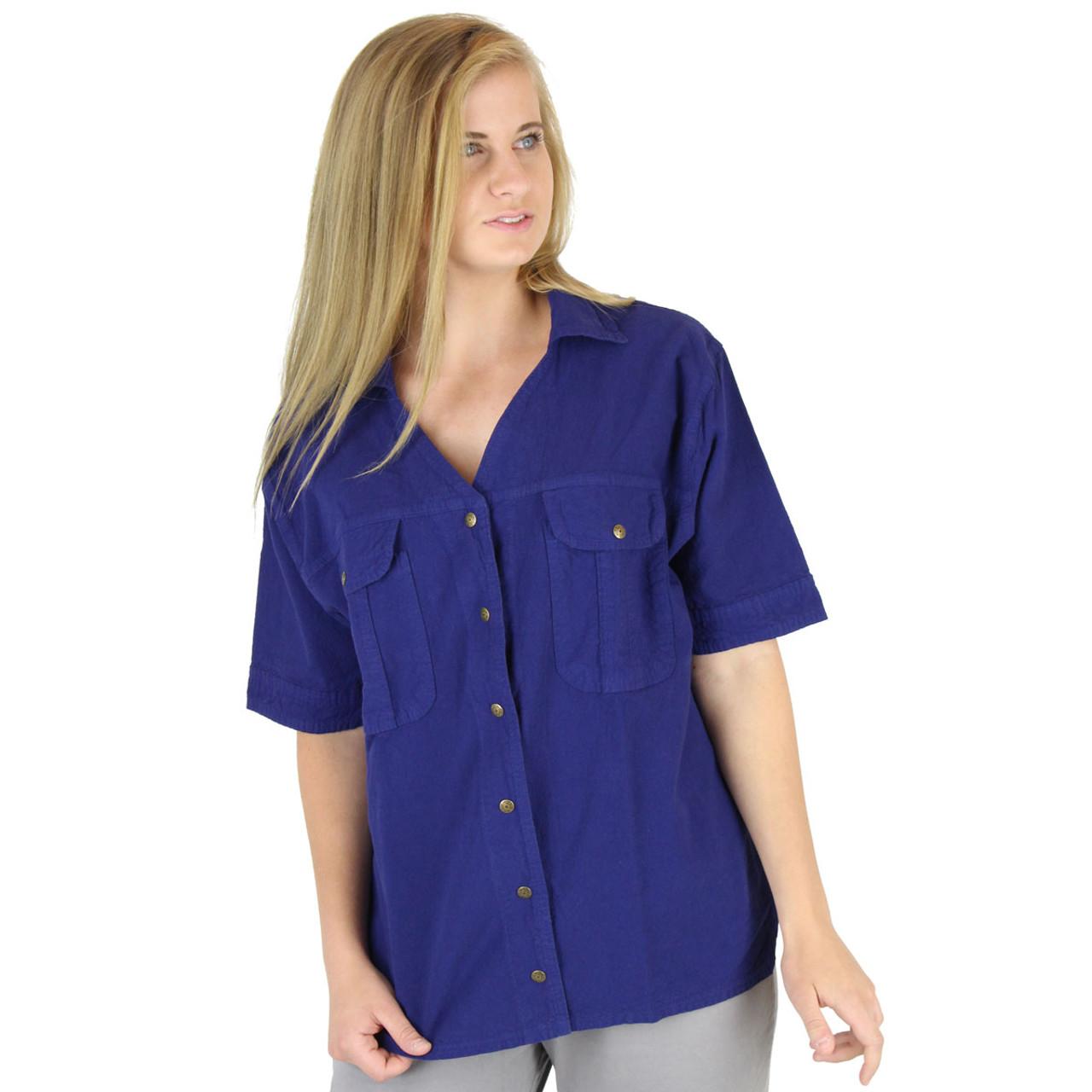 5a45f73f9 Cotton Camp Shirt | Crinkle Cotton