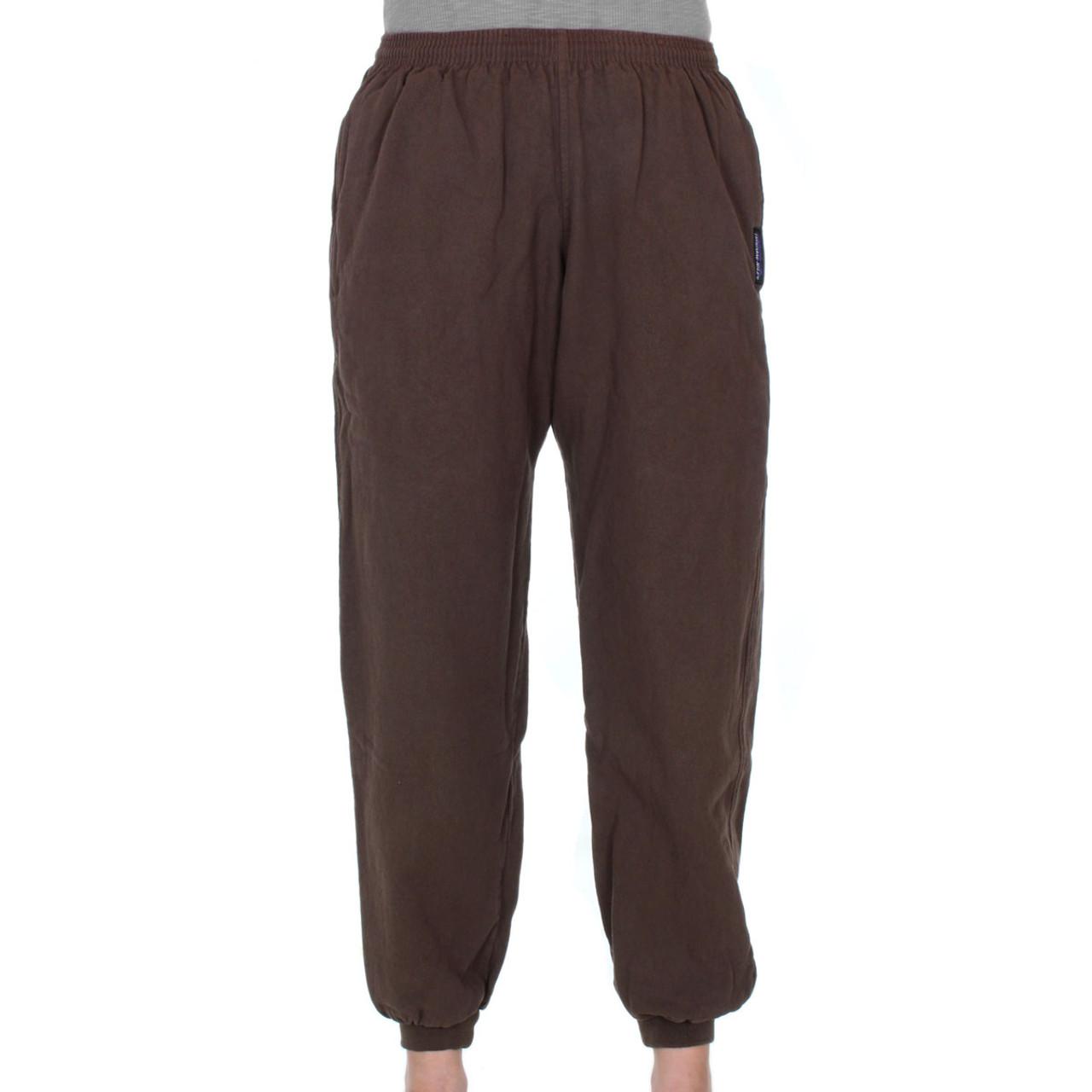 cc2e596f Previous. Womens All-Cotton Beefy 8 oz CUFFED SWEAT PANTS ...