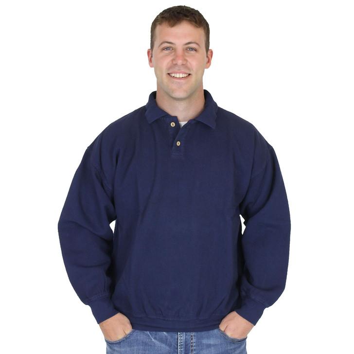 Cotton Weekender Polo - Navy
