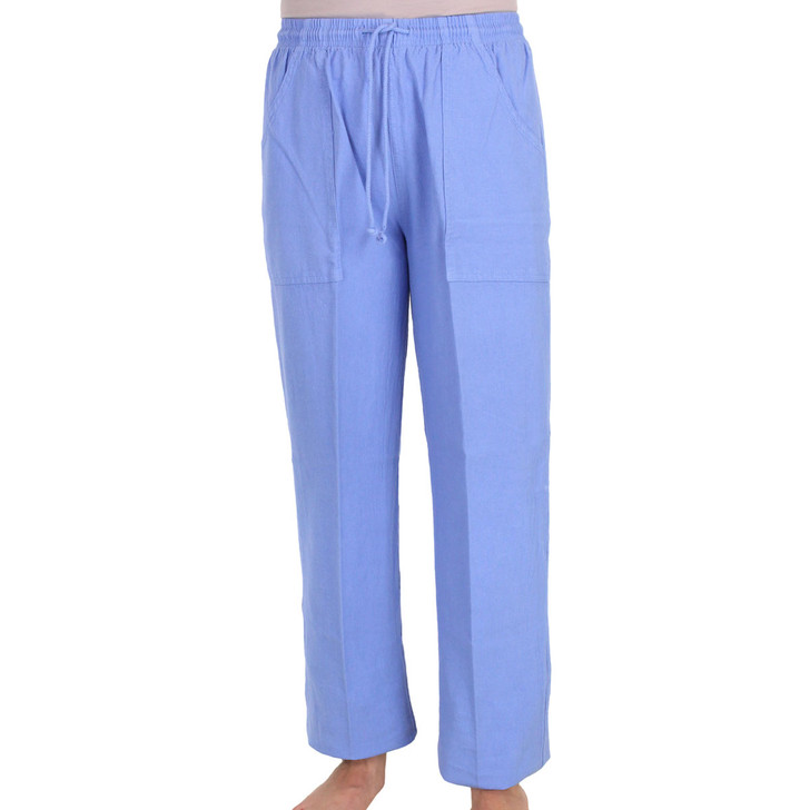 Cotton Hip Pocket Pant - Riviera