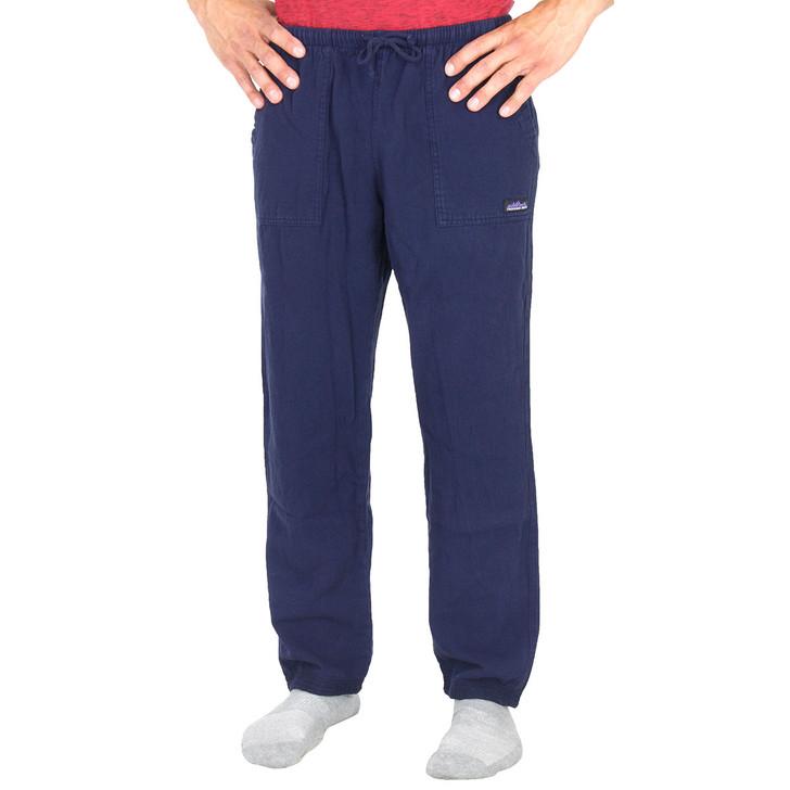 Men's Cotton 6 oz Light Weight Campcloth Pant Navy
