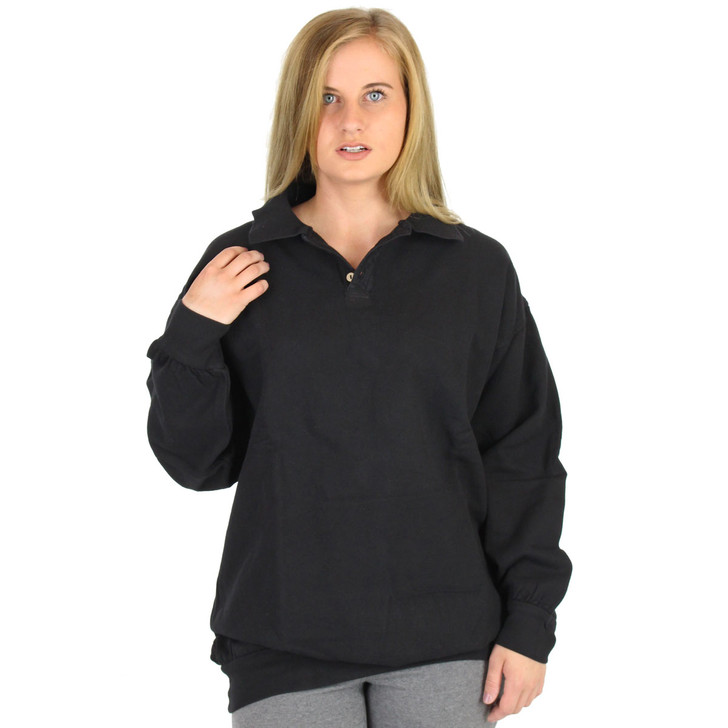 Womens Canton Cotton Weekender Polo (646W) Black