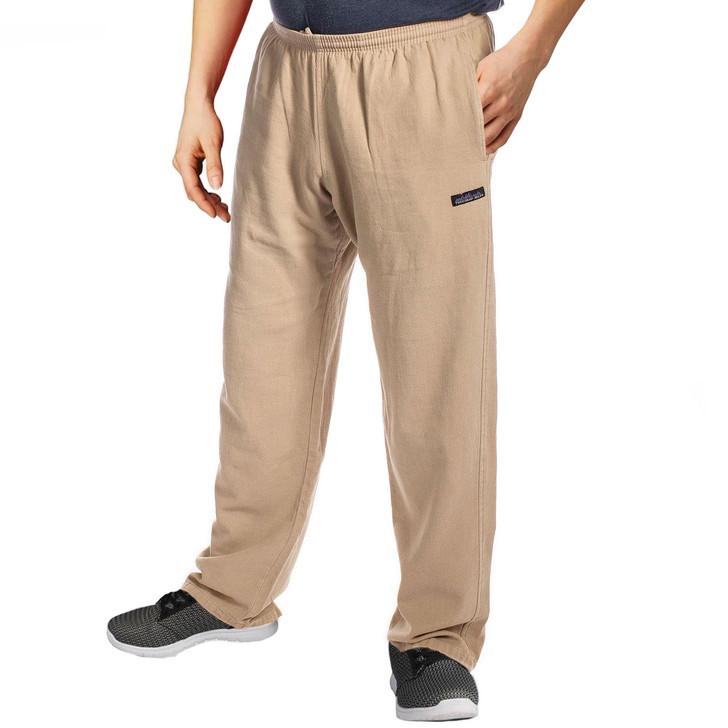 Women's Cotton 6 oz Campcloth All-Season Comfy Pants - KHAKI
