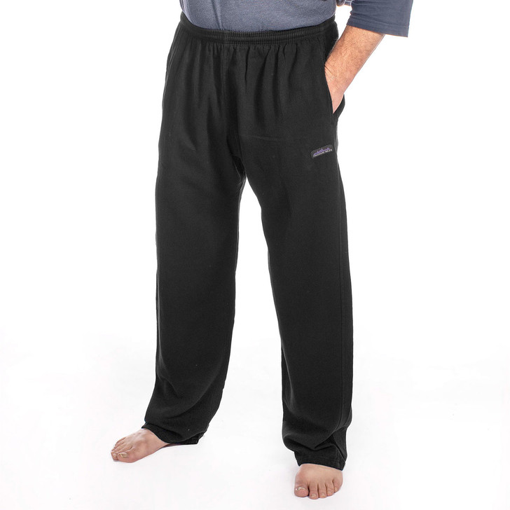 Men's Cotton 6 oz Campcloth All-Season Pants BLACK