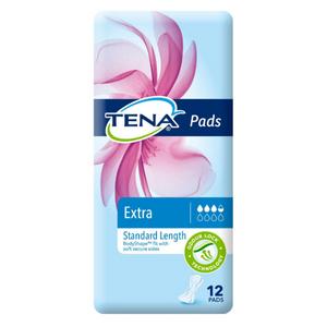 Tena Pads Extra Standard Length Pack/12