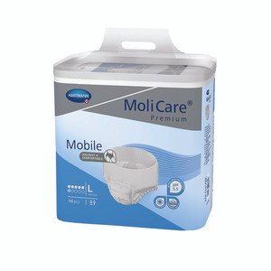 Molicare Premium Mobile Large 6 Drop Pack/14