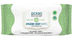 Ocean Health Care Adult Wipes, Pack/50