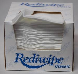 Cello RediWipe White Classic 30cm x 33cm, Pack/100