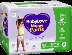 BabyLove Nappy Pants Jumbo Junior, Pack/42