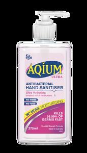 Aqium Hand Sanitiser Ultra 375mL, Each